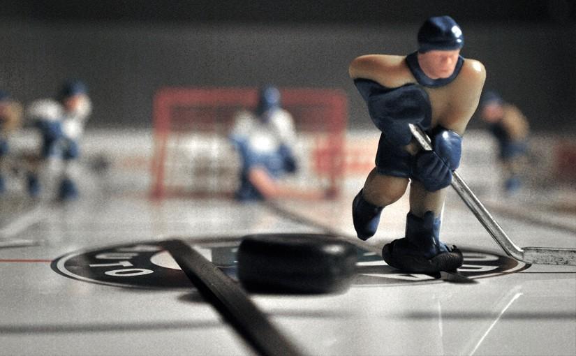 Skurklandet + Bordshockey = sant!