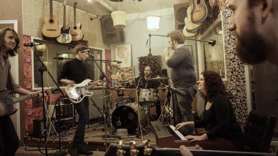 Inspelning i Studio Möllan - Skurklandet 2016-02-13