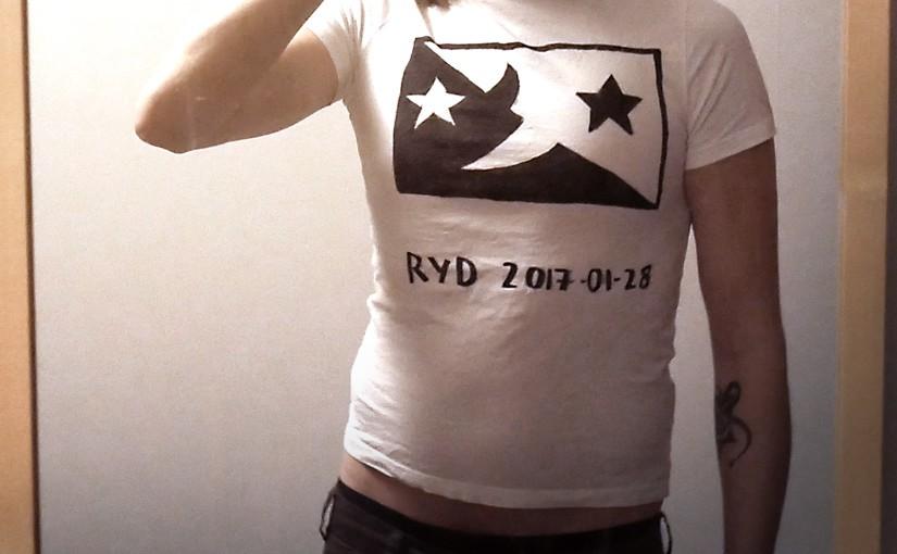 Turné-tröjan Ryd skurklandet
